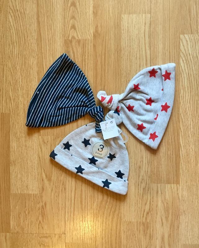 Шапка, шапочки next для малыша, размер 3-6 м, комплект и поштучно