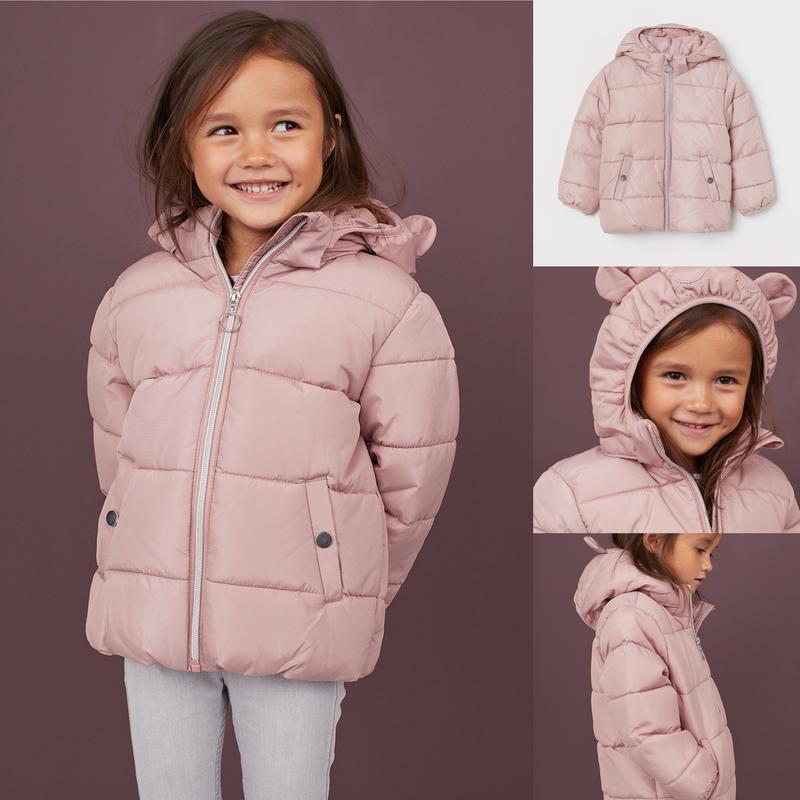 Фирменная демисезонная курточка для девочки h&m, размер 4-5, 7...