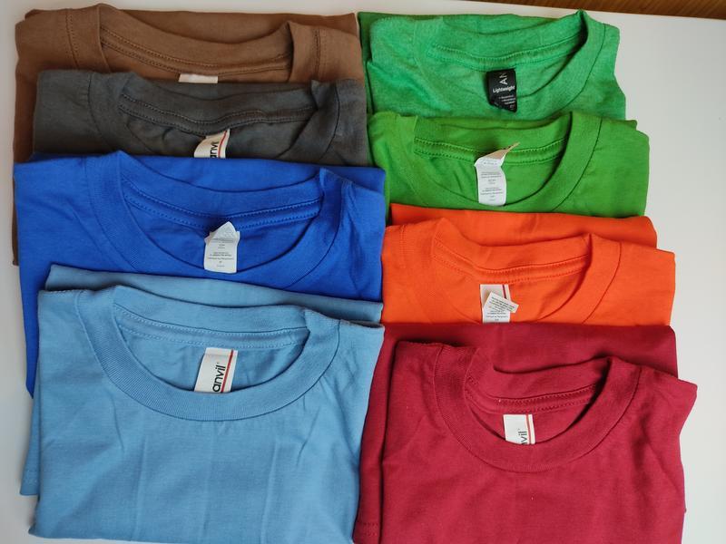 Новые детские футболки хлопок anvil gildan