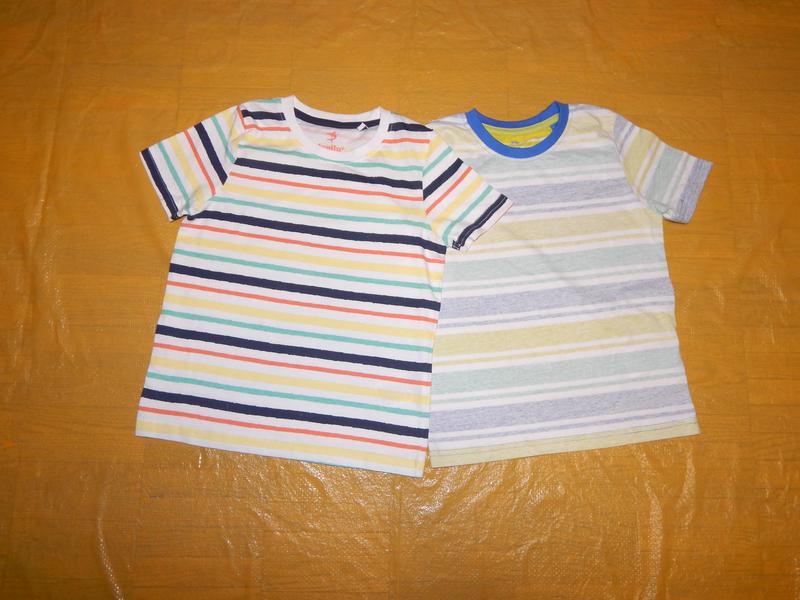 Набор 2 шт! р. 110-116, футболка хлопок lupilu лупилу, германия