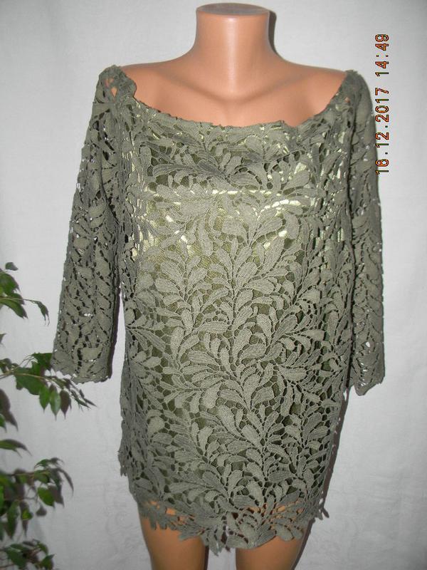 Красивая кружевная блуза