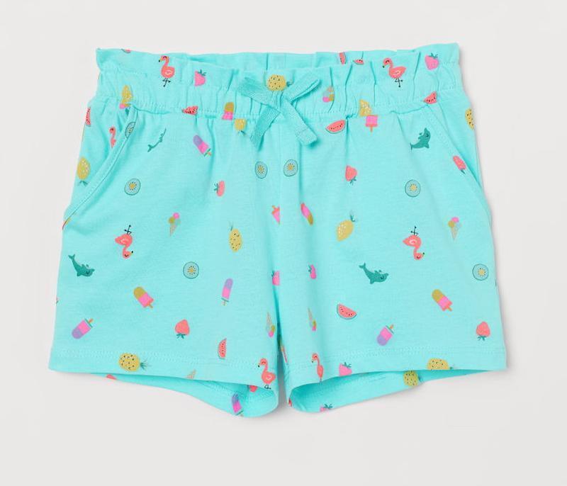 H&m шорты для девочки на 8-10 лет