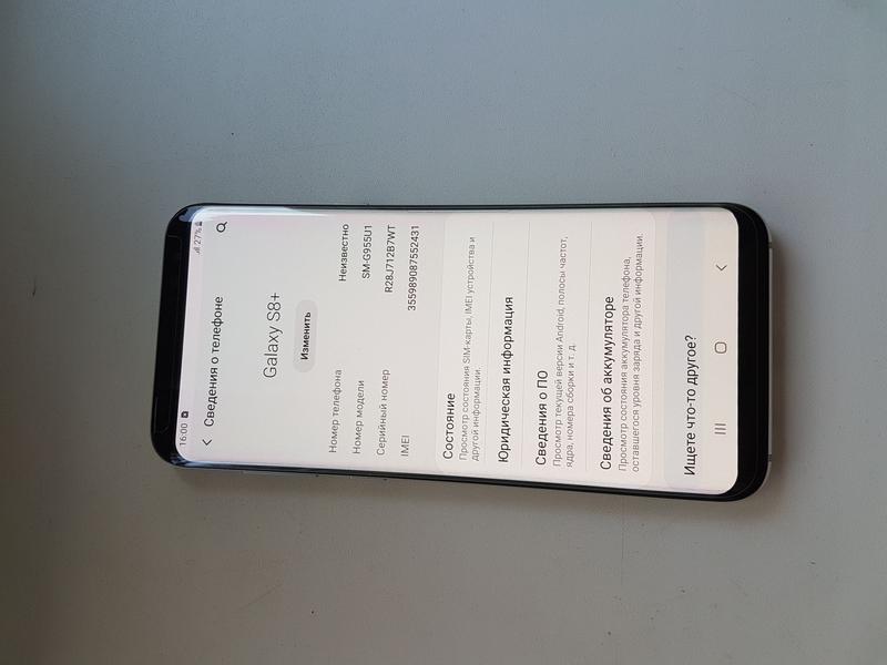 Samsung Galaxy S8 plus G955u original - Фото 2