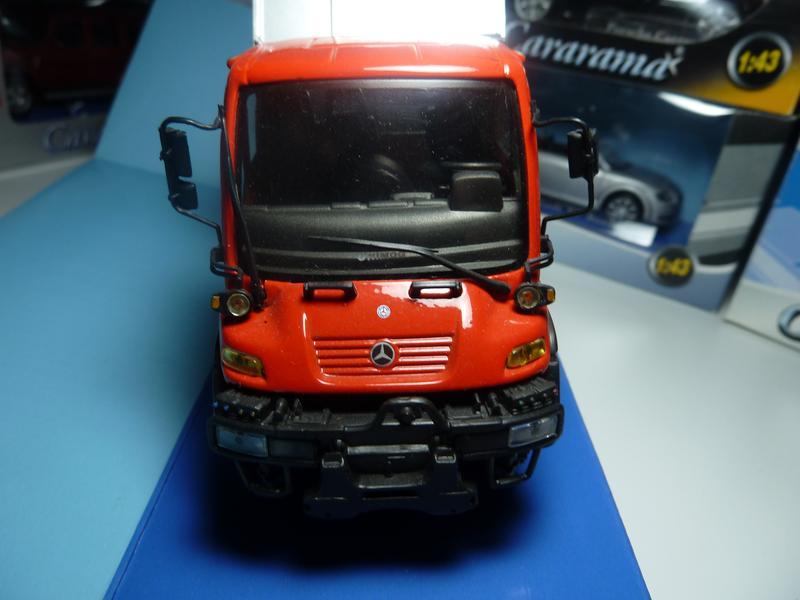 Mersedes-Benz Unimog Cararama Масштаб 1:43