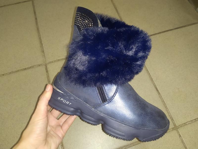 Зимние ботинки сапожки сапоги девочке зима
