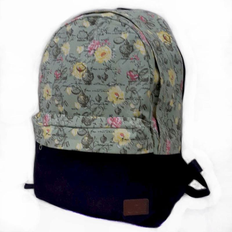 Городской молодежный рюкзак модный принт
