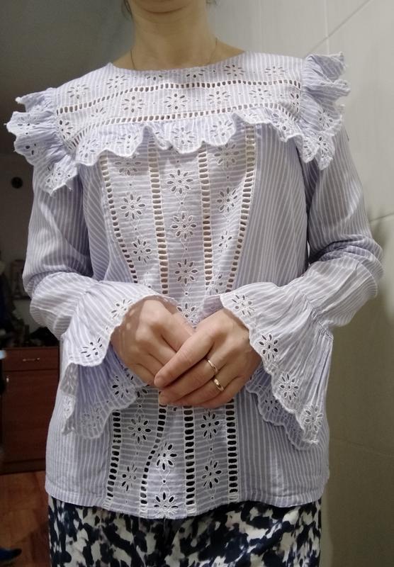 Элегантная блузка , рубашка с-м