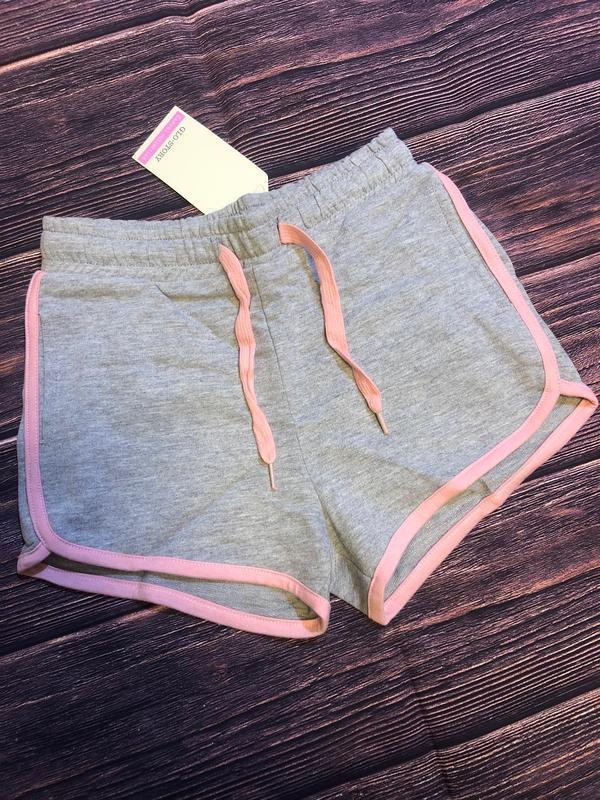Трикотажные шорты 134-164 венгрия glo story 0606. для девочек.