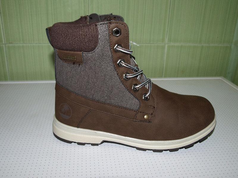 Ботинки женские зима , коричневые,очень классные,36-41,-качест... - Фото 2