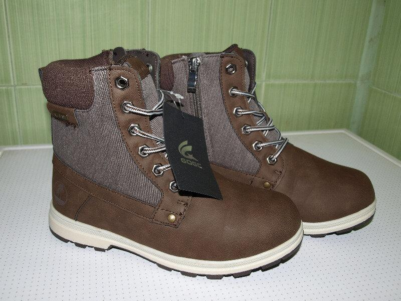 Ботинки женские зима , коричневые,очень классные,36-41,-качест... - Фото 3