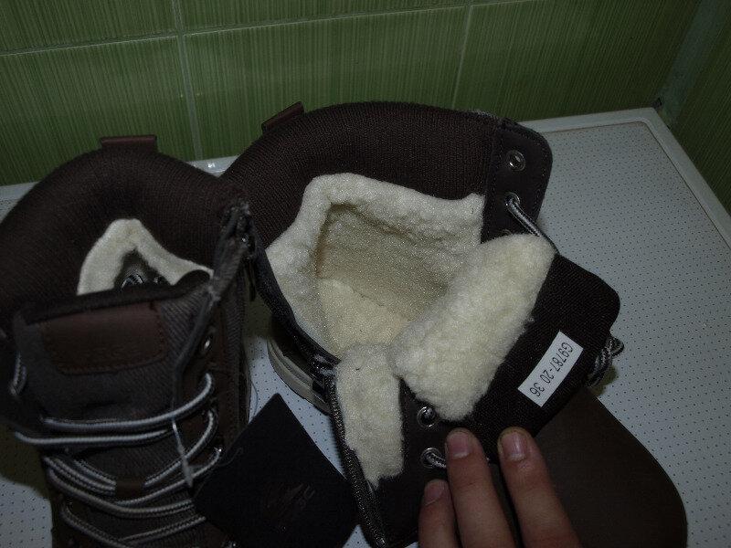 Ботинки женские зима , коричневые,очень классные,36-41,-качест... - Фото 4