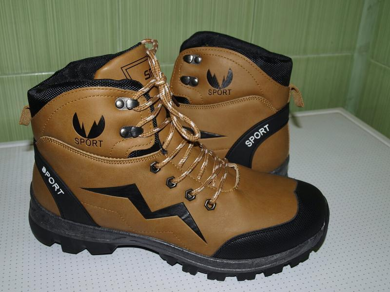 Суперские зимние ботинки 41-44- dual- качество!!!!!! дёшево!!!! - Фото 2