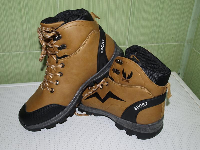 Суперские зимние ботинки 41-44- dual- качество!!!!!! дёшево!!!! - Фото 4