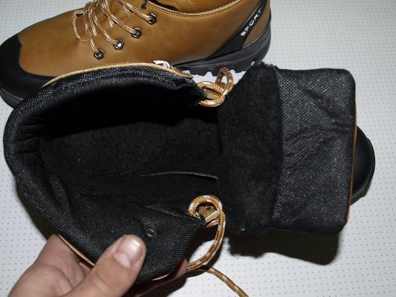 Суперские зимние ботинки 41-44- dual- качество!!!!!! дёшево!!!! - Фото 5