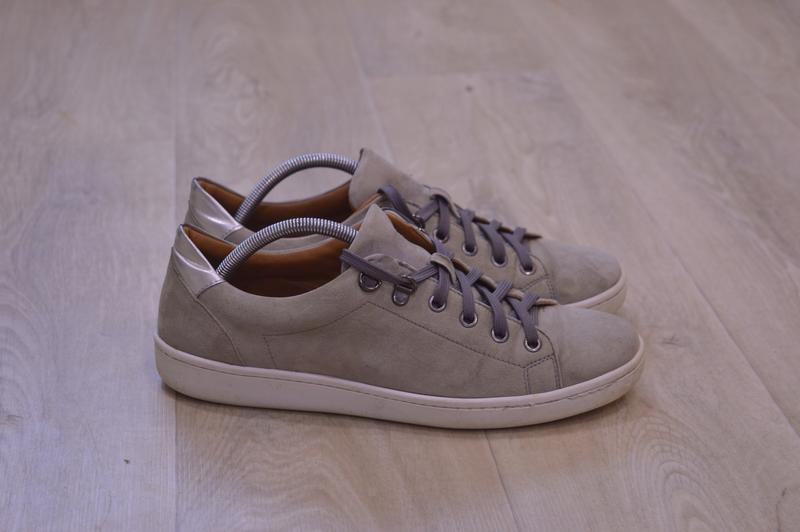Kurt geiger женские кеды кроссовки замша оригинал осень 26 см