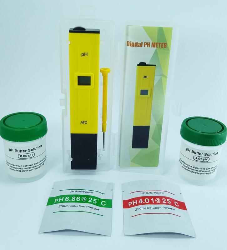 pH-метр + Набор буферных растворов pH