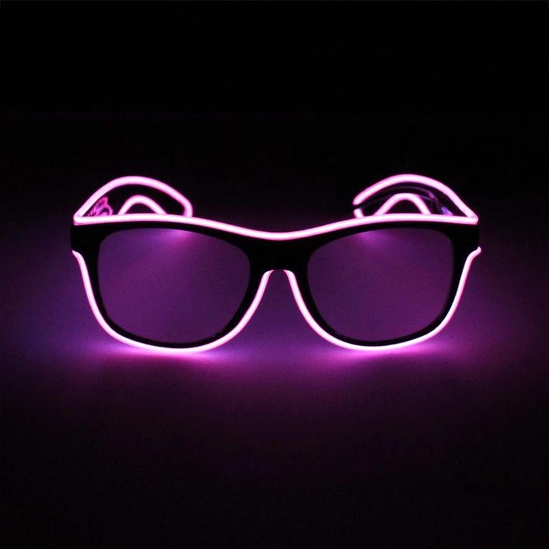 Светящиеся неоновые очки