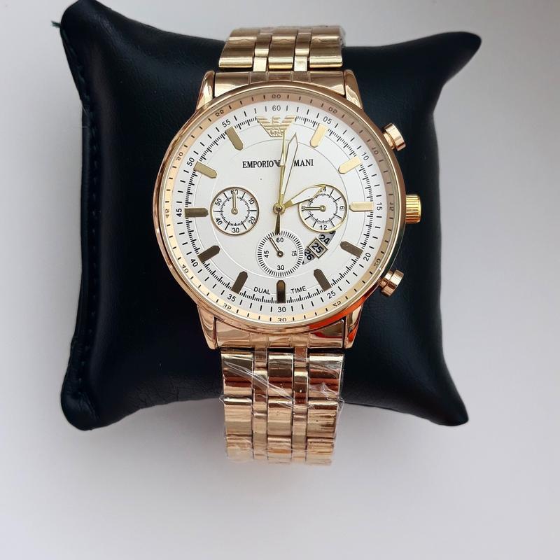 Часы мужские, под золото, модные часы, металические, элегантны...
