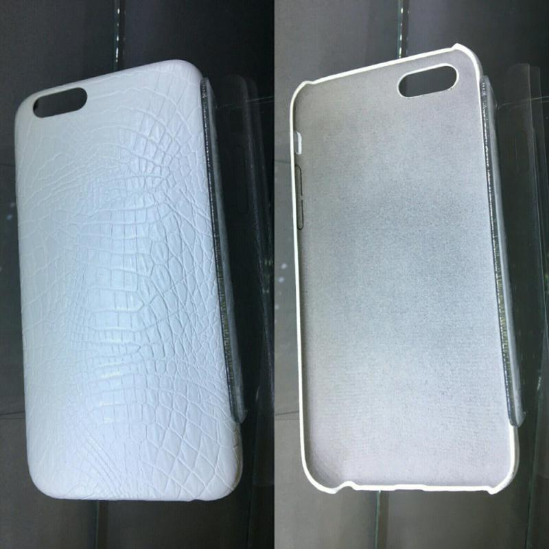 Чехол на iphone 6/6s, новый, белый, качественный, эко-кожа
