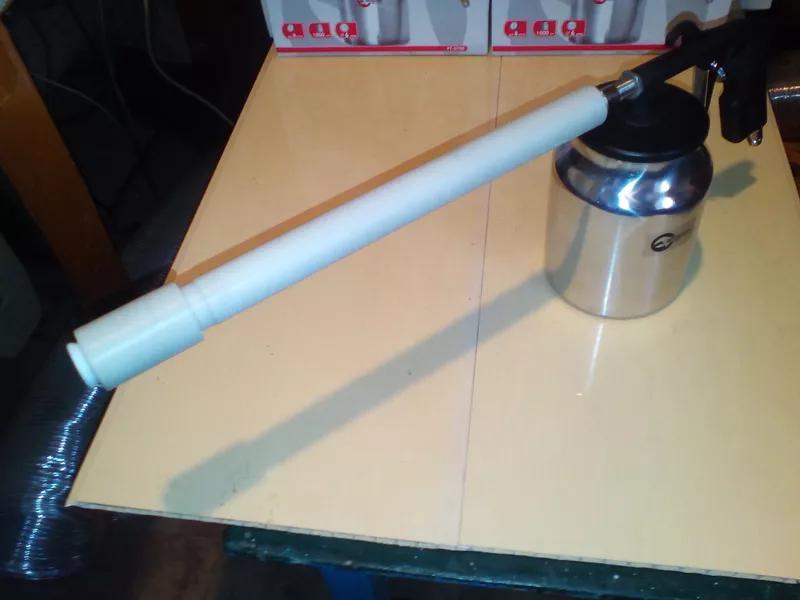 трибостатический пистолет-распылитель порошка