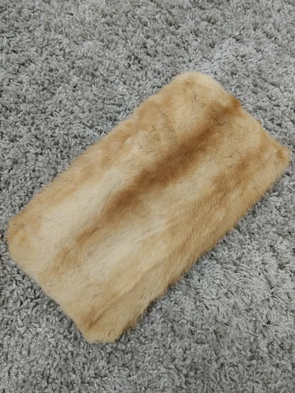 Подушка из натурального меха норки