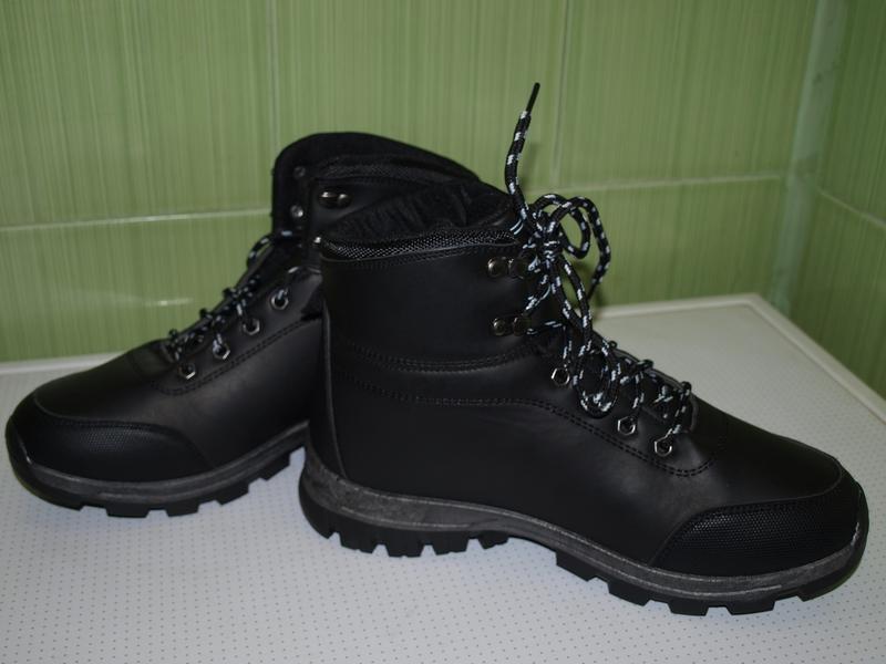 Зимние мужские ботинки спорт - Фото 4