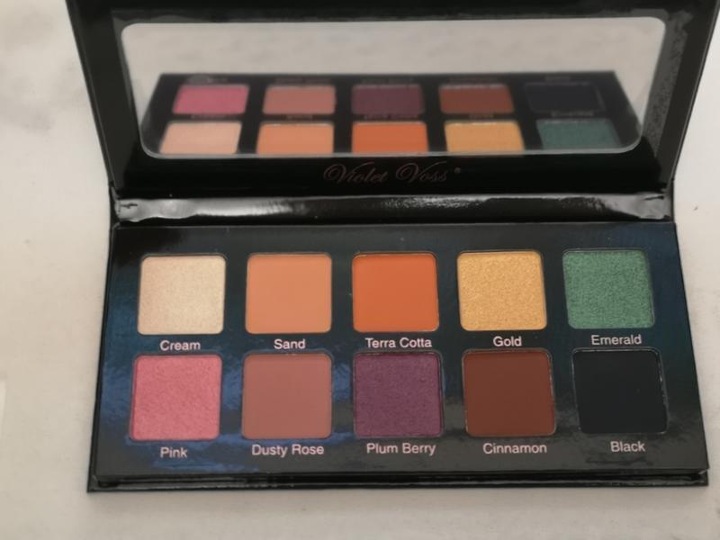 Палетка теней для век dose of colors eyeshadow palette marvelo... - Фото 5