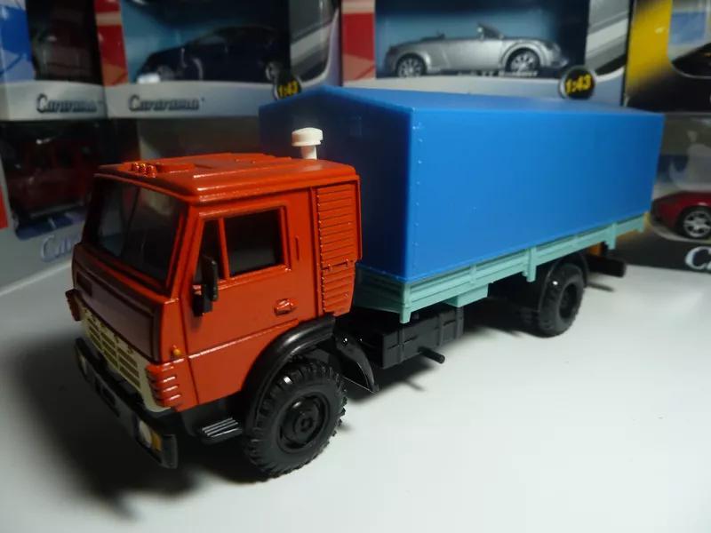 КамАЗ-5325 с тентом 1988 Элекон Масштаб 1:43