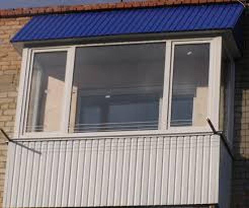 Металлопрофиль для балкона,Профнастил для балкона,Киев.