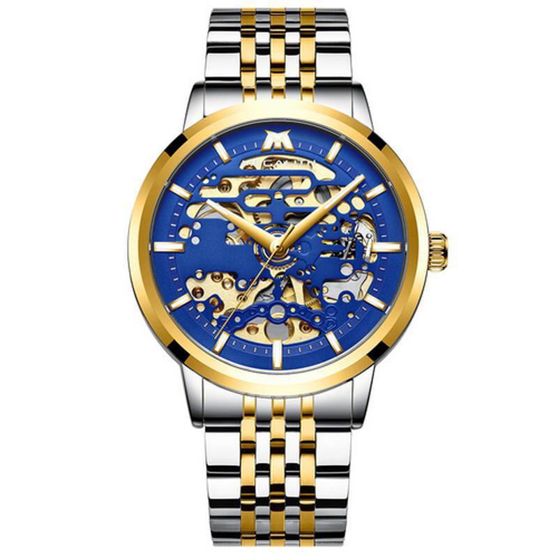 Мужские наручные часы Megalith механические с автоподзаводом