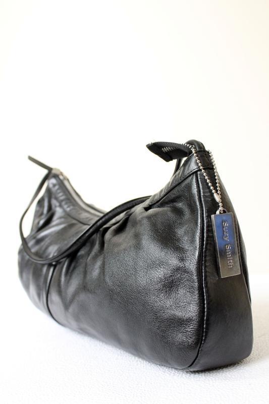 Элегантная кожаная сумка suzy smith