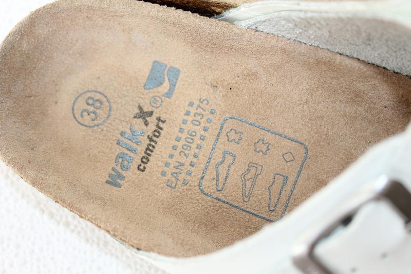 Кожаные женские сабо walkx comfort - Фото 5
