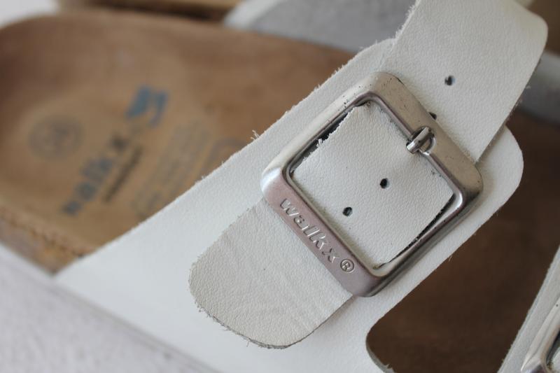 Кожаные женские сабо walkx comfort - Фото 6