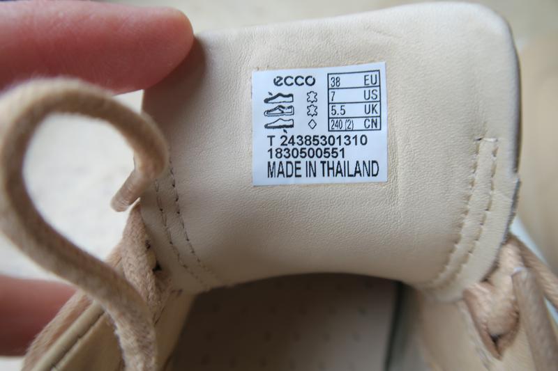 Полуботинки ecco soft 9, 38 размер, кожа, оригинал - Фото 7