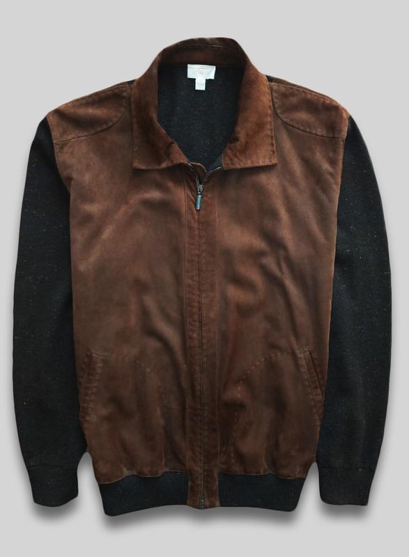 Кашемировая куртка brioni оригинал состав: кашемир + кожа