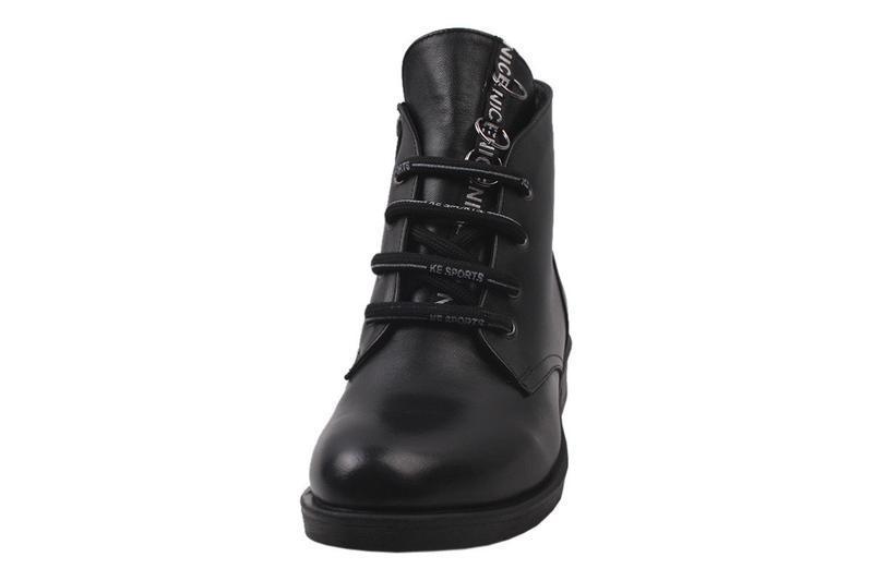 Ботинки на меху  euromoda натуральная кожа, зима 2020