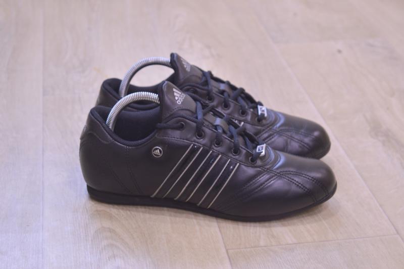 Adidas женские кожаные кроссовки оригинал осень 24 см