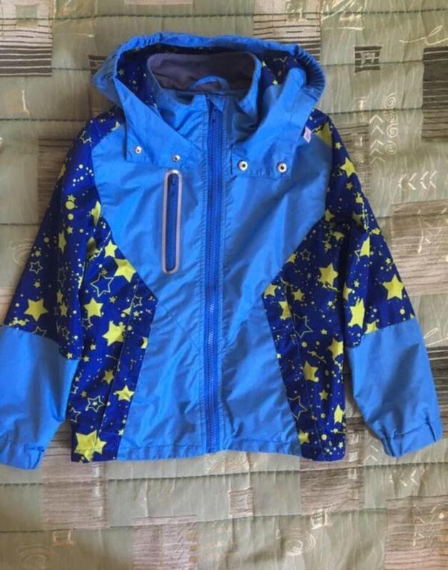 Ветрока для мальчика мембрана beeasy 116 легкая куртка курточка