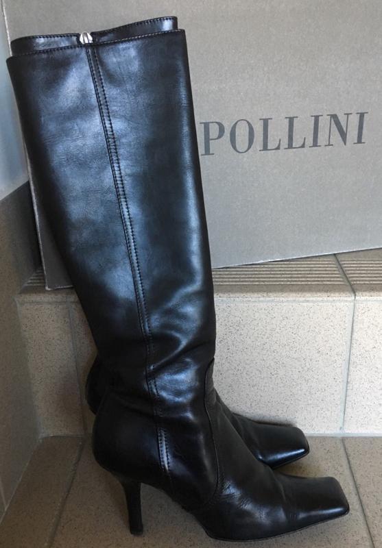 Сапоги pollini кожаные оригинал!!! - Фото 3