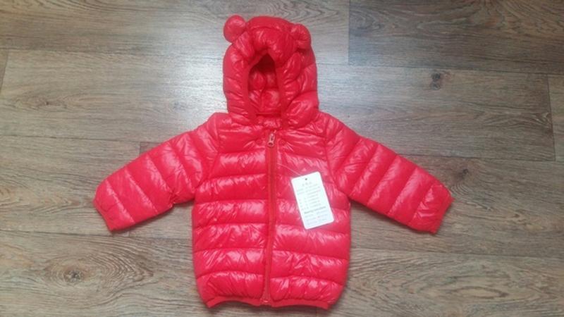 Куртка деми синтепон яркая модная - Фото 2
