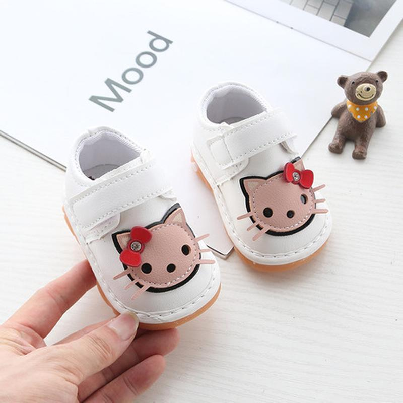Ботинки туфли китти  для малышей