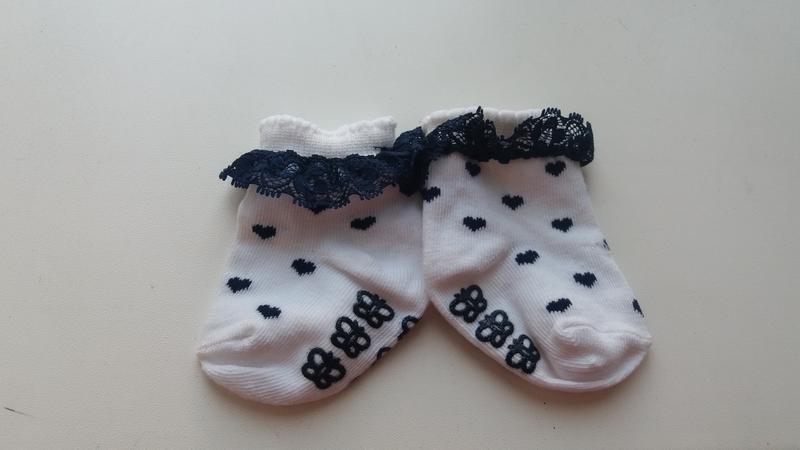 Носки носочки кружево сердечки новые нарядные