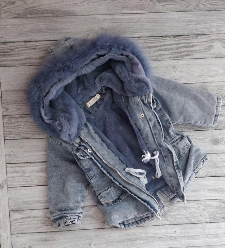 Парка зимняя на меху тёплая модная - Фото 2