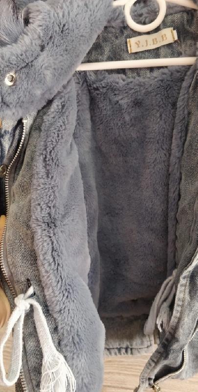 Парка зимняя на меху тёплая модная - Фото 3