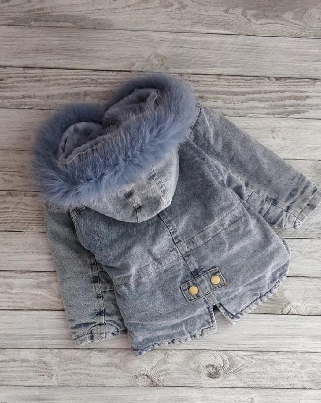 Парка зимняя на меху тёплая модная - Фото 5