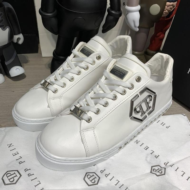Philipp plein over the top white