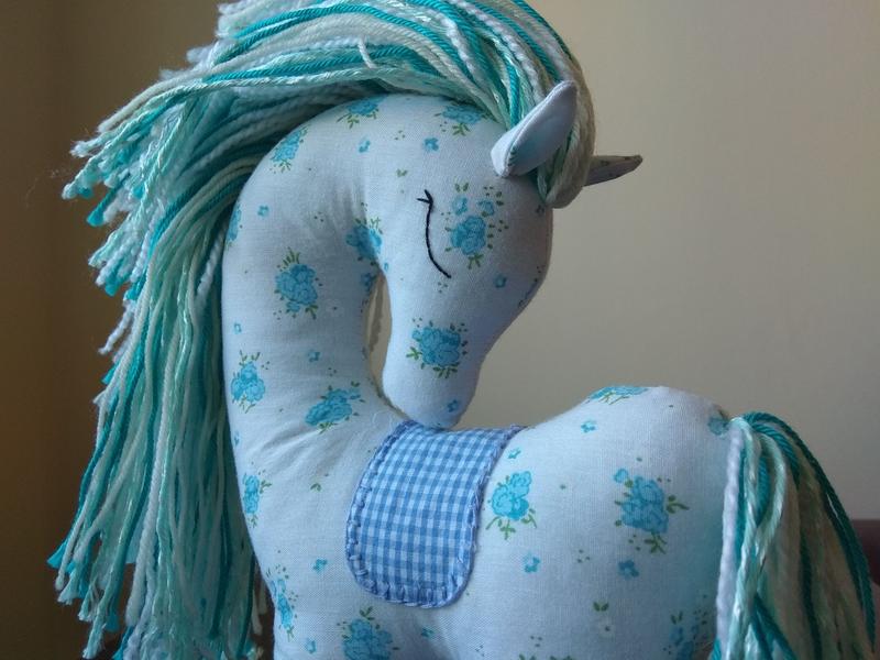 Игрушка конь лошадь ручной работы Подарок
