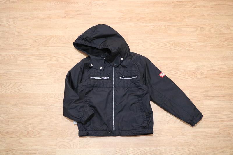 Куртка /ветровка утепленная 128/ 134 см ticket outdoor