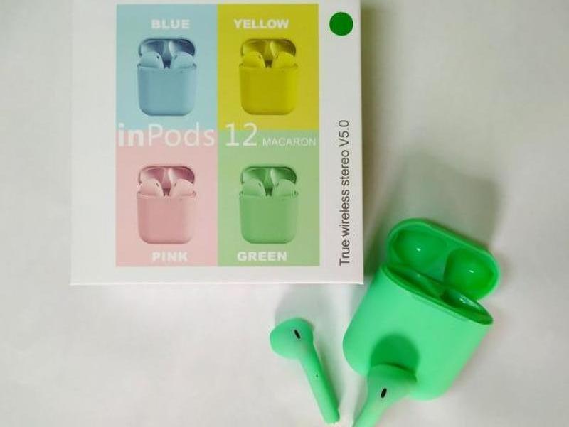 Беспроводные наушники, Bluetooth Наушники, Apple inPods 12 TWS
