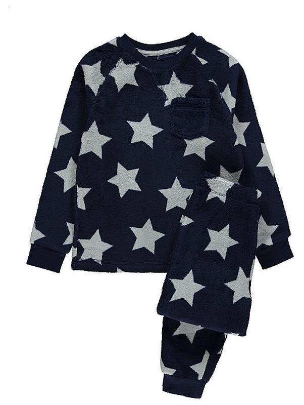 Пижама флисовая плюшевая george, 7-13лет